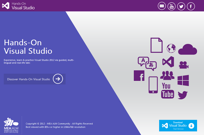 Hands-On Visual Studio